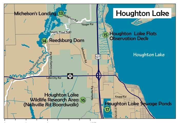 5 Houghton Lake area